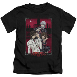Image for Vampire Knight Kids T-Shirt - Castle Pose
