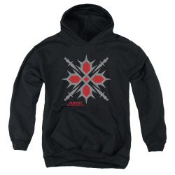 Image for Vampire Knight Youth Hoodie - Hunter Symbol