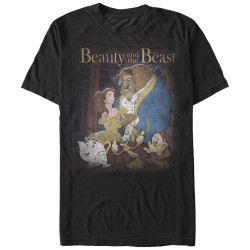 Image for Beauty & the Beast T-Shirt - Poster
