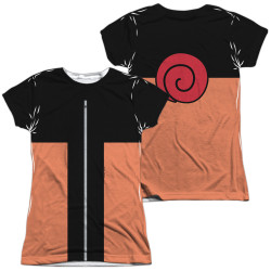 Image for Naruto Shippuden Girls Sublimated T-Shirt - Costume