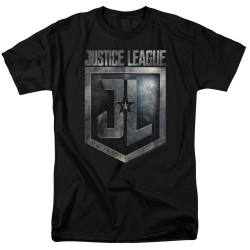 Image for Justice League Movie T-Shirt - Shield Logo