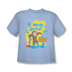 Image for Curious George Messy George Youth T-Shirt