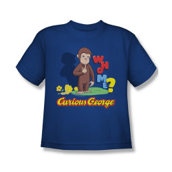 Image for Curious George Who Me? Youth T-Shirt
