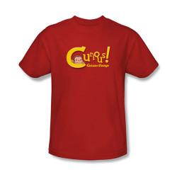 Image Closeup for Curious George Curious! T-Shirt