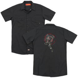 Image for Justice League Movie Dickies Work Shirt - Cyborg