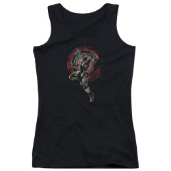 Image for Justice League Movie Girls Tank Top - Cyborg