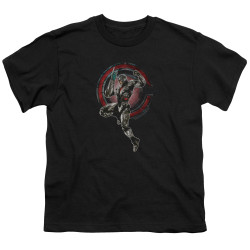 Image for Justice League Movie Youth T-Shirt - Cyborg