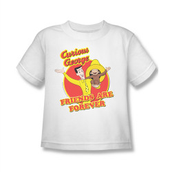 Image for Curious George Friends are Forever Kids T-Shirt