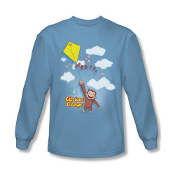 Image for Curious George Flight Long Sleeve T-Shirt