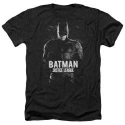 Image for Justice League Movie Heather T-Shirt - Batman