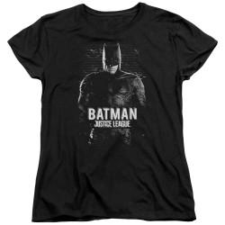 Image for Justice League Movie Womans T-Shirt - Batman