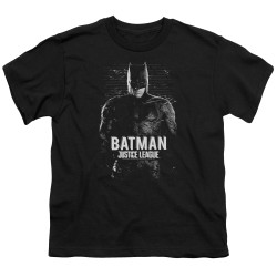 Image for Justice League Movie Youth T-Shirt - Batman
