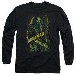 Image for Justice League Movie Long Sleeve Shirt - Aquaman