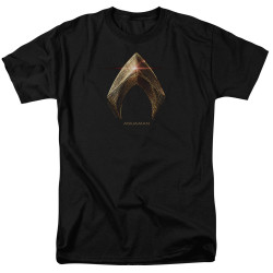 Image for Justice League Movie T-Shirt - Aquaman Logo