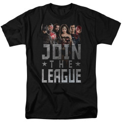 Image for Justice League Movie T-Shirt - Join the League
