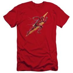 image for Justice League Movie Premium Canvas Premium Shirt - Flash Forward