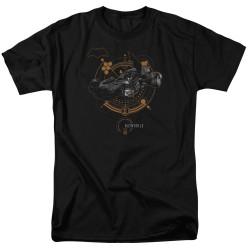 Image for Justice League Movie T-Shirt - Batmobile