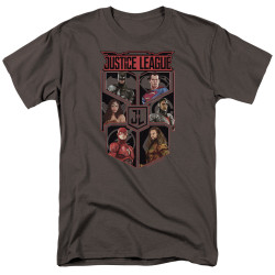 Image for Justice League Movie T-Shirt - League of Six