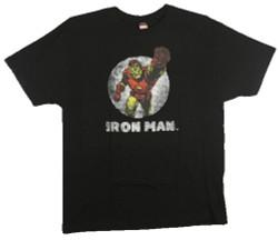 Image Closeup for Iron Man T-Shirt - Tetsu Punch