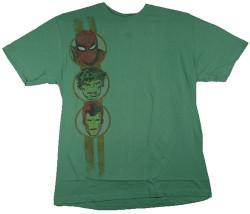 Image Closeup for Marvel T-Shirt - Team Stripe