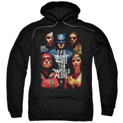 Image for Justice League Movie Hoodie - Save the World
