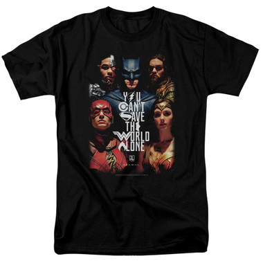 Image for Justice League Movie T-Shirt - Save the World