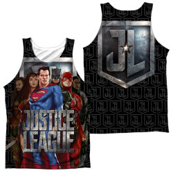 Image for Justice League Movie Sublimated Tank Top - the League