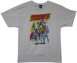 image for Marvel T-Shirt - Team Avenger