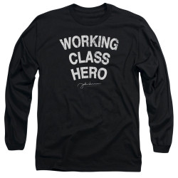 Image for John Lennon Long Sleeve Shirt - Working Class Hero