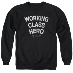 Image for John Lennon Crewneck - Working Class Hero