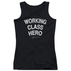 Image for John Lennon Girls Tank Top - Working Class Hero