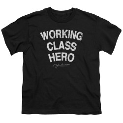 Image for John Lennon Youth T-Shirt - Working Class Hero