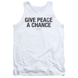 Image for John Lennon Tank Top - Give Peace a Chance