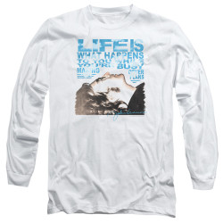 Image for John Lennon Long Sleeve Shirt - Other Plans
