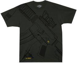 Image Closeup for Get Some M-16 T-Shirt