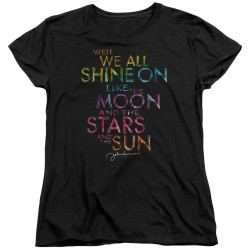Image for John Lennon Womans T-Shirt - All Shine On