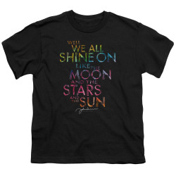 Image for John Lennon Youth T-Shirt - All Shine On