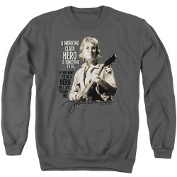 Image for John Lennon Crewneck - Just Follow Me