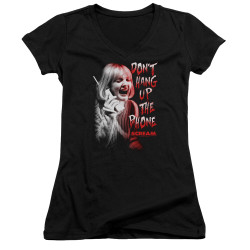Image for Scream Girls V Neck - Don't Hang Up