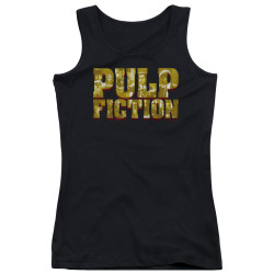 Image for Pulp Fiction Girls Tank Top - Pulp Logo