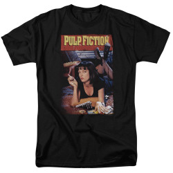 Image for Pulp Fiction T-Shirt - Classic Mia Poster
