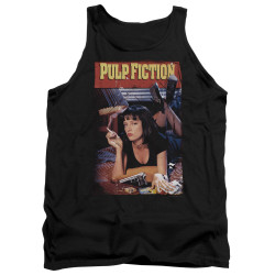 Image for Pulp Fiction Tank Top - Classic Mia Poster