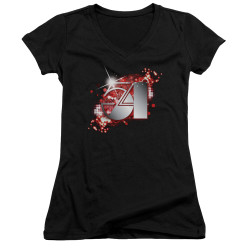 Image for Studio 54 Girls V Neck - Logo
