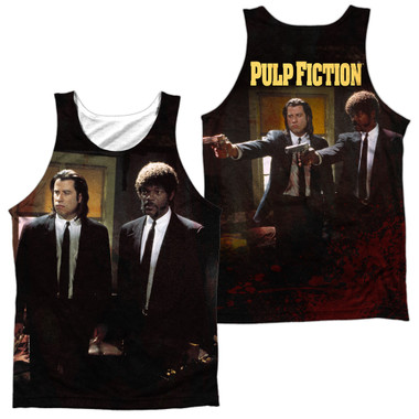 Image for Pulp Fiction Sublimated Tank Top - Vincent and Jules