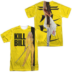 Image for Kill Bill Sublimated T-Shirt - Poster 100% Polyester