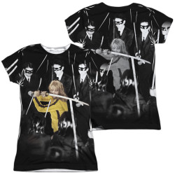 Image for Kill Bill Girls Sublimated T-Shirt - Crazy 88s