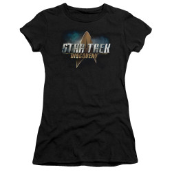 Star Trek Discovery Juniors T-Shirt - Logo