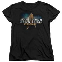 Star Trek Discovery Womans T-Shirt - Logo