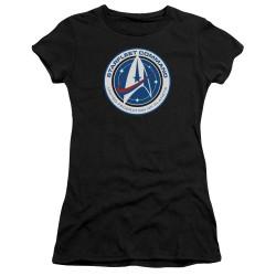 Star Trek Discovery Juniors T-Shirt - Starfleet Command