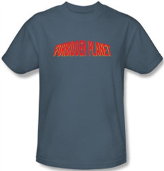 Image Closeup for Forbidden Planet Logo T-Shirt